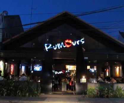 Rumors Bar And Grill >> Rumours Restaurant In Seminyak Bali