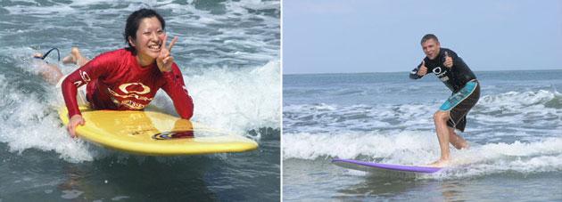 ODYSSEYS Surfing School Bali