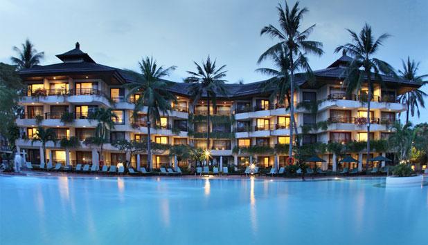 sanur beach hotel pool