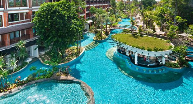 padma resort bali lagoon pool