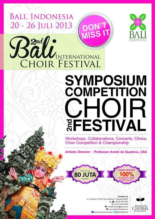 Bali International Choir Festival 2013