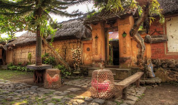 tenganan village - house