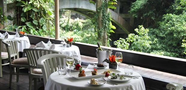 bridges Bali ubud restaurant